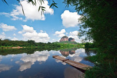 Danxia mountain 1 Stock Photo