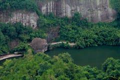 Danxia obywatel Geopark fotografia royalty free