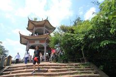 Danxiashanberg Royalty-vrije Stock Foto's