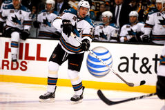 Dany Heatley San Jose Sharks Stock Photos
