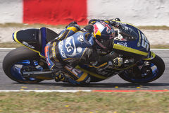 Dany Kent, Moto2 Montmelo Royalty Free Stock Photo