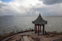 Danya Mountain Penglai City in Shandong-Provinz Lizenzfreie Stockfotos