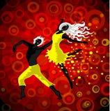 Danza stock de ilustración