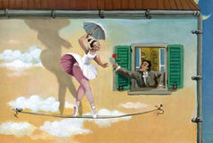 danza Imagen de archivo libre de regalías