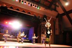 Danza aborigen del guerrero Fotografía de archivo