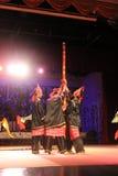 Danza aborigen Sarawak Imagenes de archivo