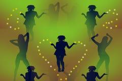 Danza aerobia libre illustration