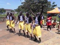 Danza africana Fotos de archivo