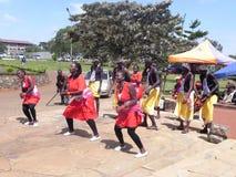 Danza africana Fotografía de archivo