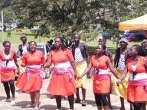 Danza africana Foto de archivo libre de regalías