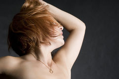 Danza apasionada Foto de archivo libre de regalías