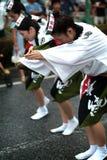 Danza /Awa Odori de Awa Imagen de archivo libre de regalías