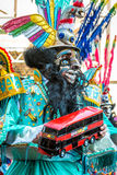 Danza boliviana de diablos imagenes de archivo