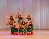 Danza cómica creativa Foto de archivo libre de regalías