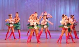 Danza cómica creativa Fotos de archivo