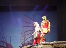 Danza: casamentero femenino y mujer soltera hui'an Imagenes de archivo