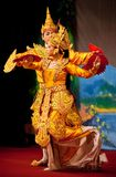 Danza clásica del birmano Foto de archivo
