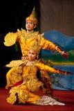Danza clásica del birmano Foto de archivo libre de regalías
