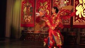 Danza con los dragones almacen de video