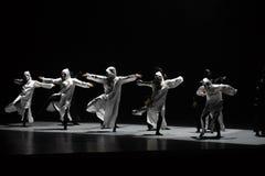 Danza con un ` de la danza del ` s de máscara-Huang Mingliang ningún ` del refugio fotografía de archivo libre de regalías