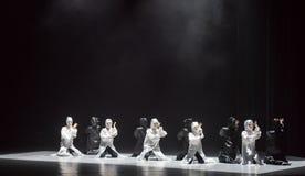 Danza con un ` de la danza del ` s de máscara-Huang Mingliang ningún ` del refugio fotos de archivo libres de regalías