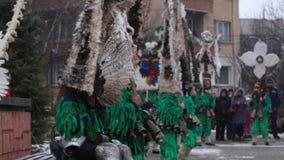 Danza de Тhe Kukers almacen de metraje de vídeo