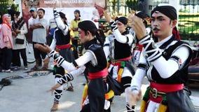 Danza de amontonamiento de Kuda en el festival de Yogyakarta