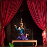 Danza de Apsara Imágenes de archivo libres de regalías