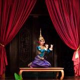 Danza de Apsara Imagenes de archivo
