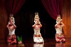 Danza de Apsara, Camboya imagenes de archivo