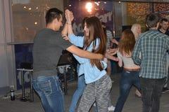Danza de Bachata Imágenes de archivo libres de regalías