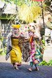 Danza de Barong, Bali, Indonesia Imagen de archivo