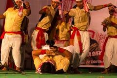 Danza de Bihu Imagen de archivo