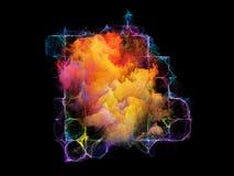 Danza de elementos Imagen de archivo