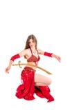Danza de espada árabe fotografía de archivo