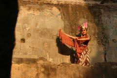 Danza de Gambyong Fotografía de archivo libre de regalías