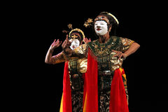 Danza de Gambyong Fotos de archivo libres de regalías