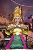 Danza de Gamelan Timang Burung Fotos de archivo libres de regalías