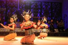 Danza de Iban Foto de archivo