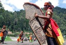 Danza de Jathilan Fotografía de archivo libre de regalías