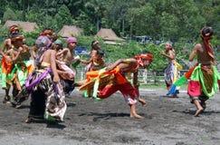 Danza de Jathilan Fotos de archivo