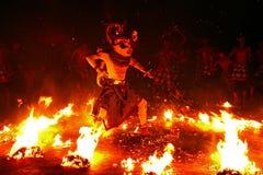 Danza de Kecak foto de archivo