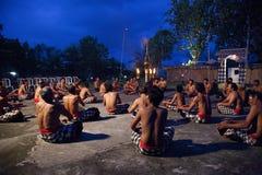 Danza de Kecak en Bali imagen de archivo libre de regalías
