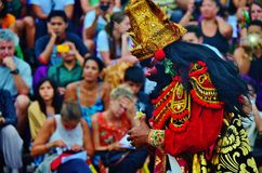 Danza de Kencak Fotos de archivo
