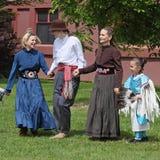 Danza de la amistad Foto de archivo
