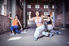 Danza de la aptitud Fotos de archivo