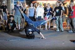 Danza de la calle Fotos de archivo libres de regalías