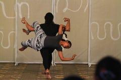 Danza de la escritura de Java Foto de archivo libre de regalías