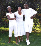 Danza de la familia Imagen de archivo libre de regalías