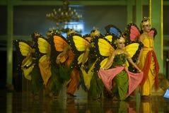 Danza de la mariposa Foto de archivo libre de regalías